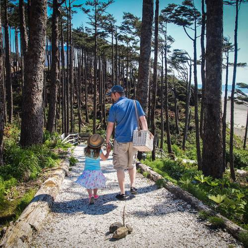 Seabrook Our Story Dad Daughter Beach