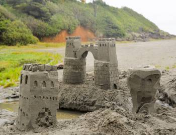 Sandcastles!
