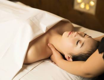 Relax at Spa Elizabeth located within Seabrook
