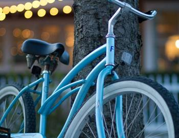 Looking for something fun to do? Take a ride on a beach cruiser at Seabrook
