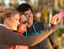 Enjoy your Mother's Day at Seabrook - three beautiful ladies taking a selfie