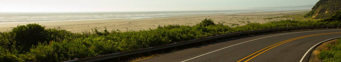 Seabrook Washington Coast Road View