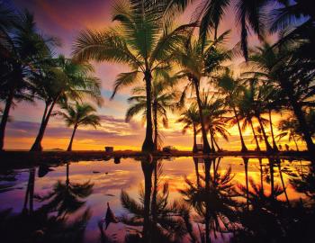 Costa Rica Sunset Image